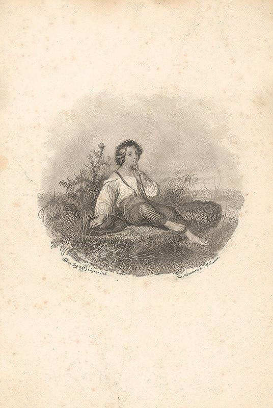 Josef Axmann, Peter Johann Nepomuk Geiger - Pastierik