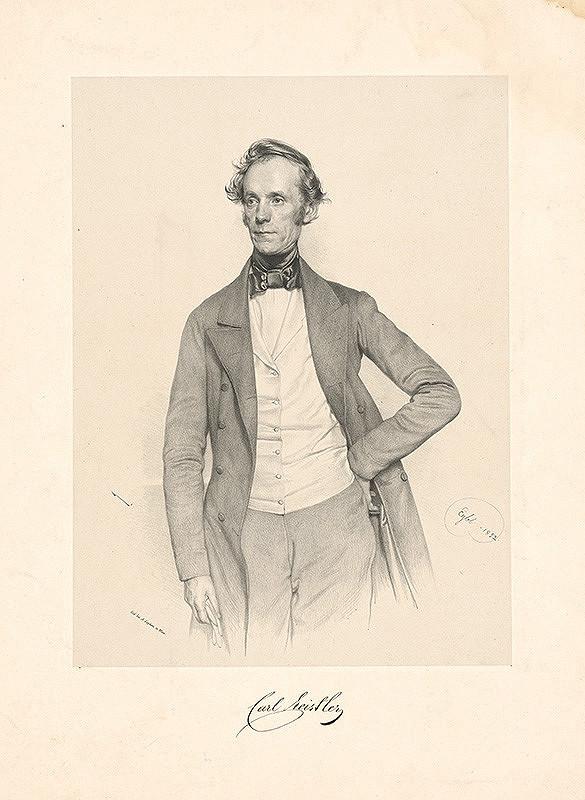 Franz Eybl - Portrét Karola Ceistlera