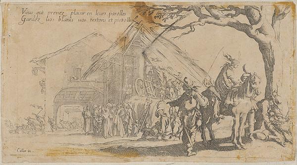 Jacques Callot – Scéna z tridsaťročnej vojny