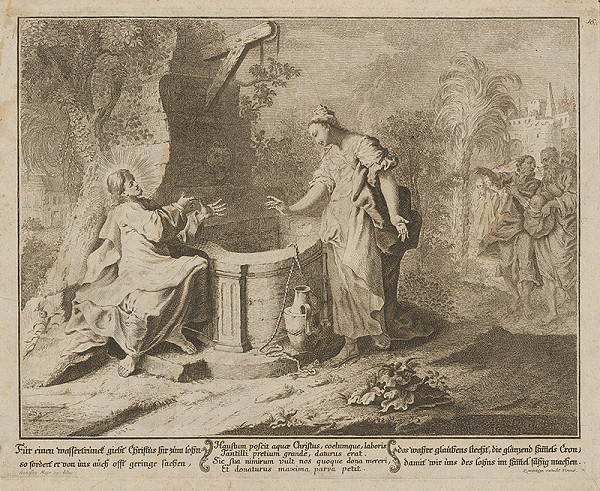 Franz Mayr – Ježiš a Samaritánka