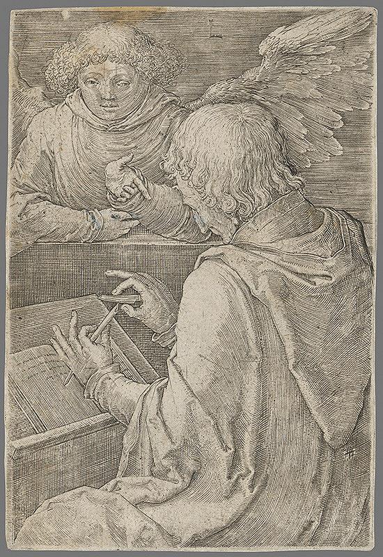 Lucas van Leyden – Sv.Matúš evangelista