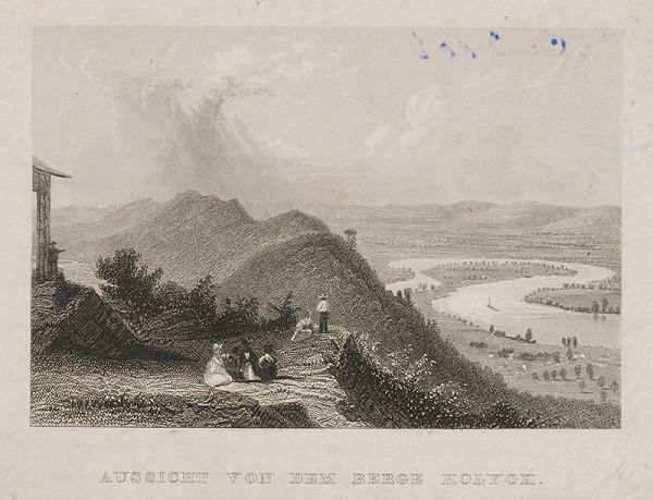 Stredoeurópsky maliar z 19. storočia - Výhľad z vrchu Holyok
