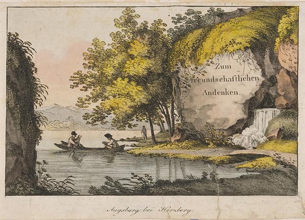 Nemecký maliar z 19. storočia – Krajina