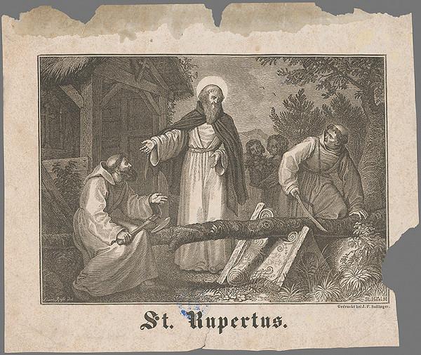 Taliansky maliar z 19. storočia – Sv. Rupertus
