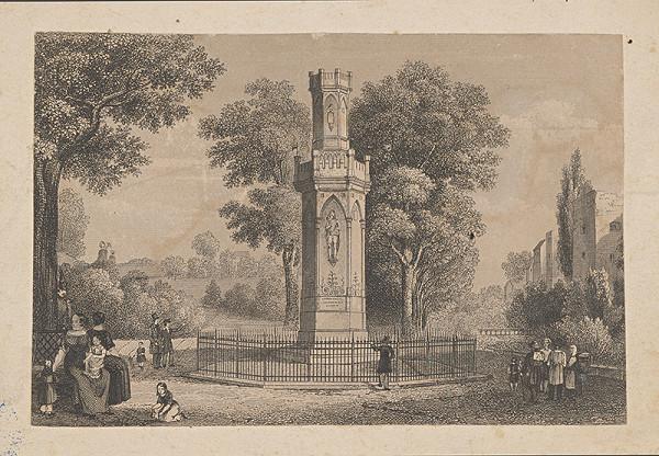 Stredoeurópsky maliar z 19. storočia – Pamätník