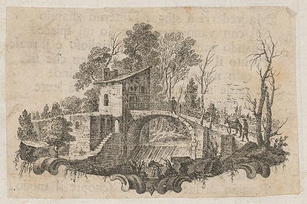 Stredoeurópky grafik z 2. polovice 18. storočia – Krajinka