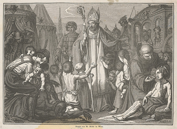 Blasius Höfel, Leopold Schulz - Svätý Mikuláš