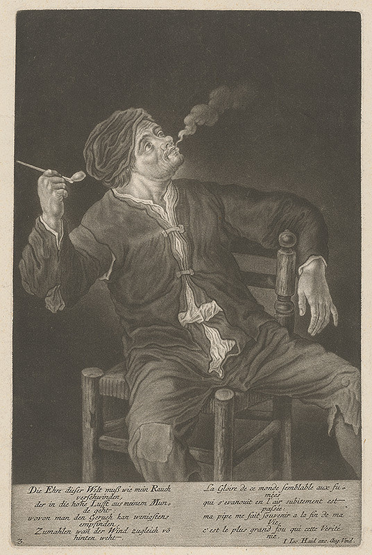 Johann Jacob Haid – Fajčiar