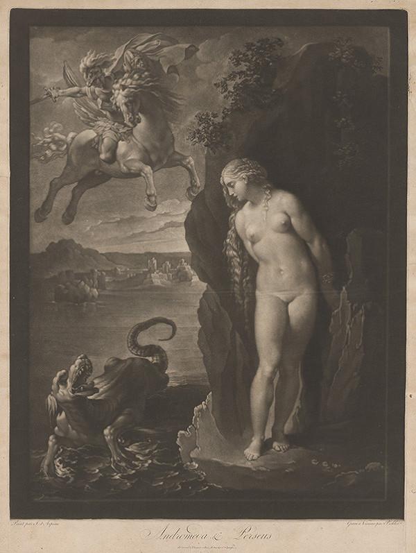 Ferdinand Pichler, Giuseppe Cesari – Andromeda a Perseus