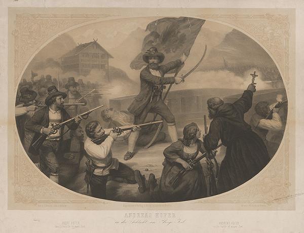 Carl Johann Arnold, Bulow – Andreas Hofer v boji na vrchu Isel