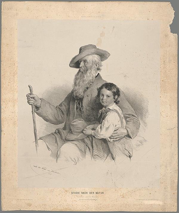 Fritz Kriehuber – Starec s vnukom