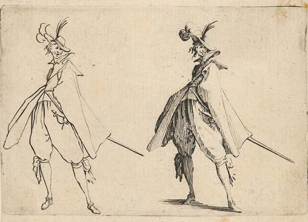 Jacques Callot - Gavalier
