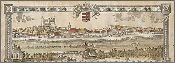 Gottfried Prixner – Bratislava z juhu