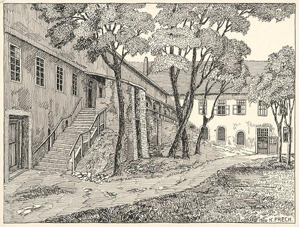 Karol Frech – Pálffyovské kasárne v Bratislave