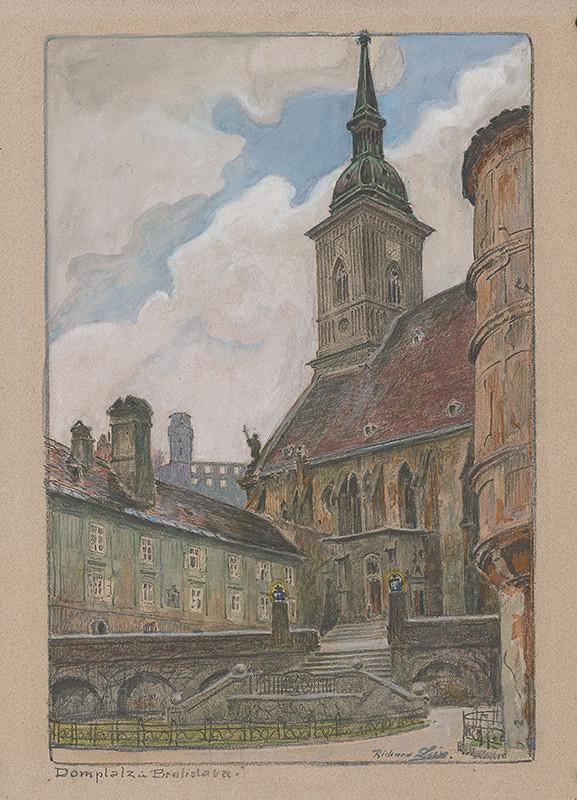 Richard Lux - Rudnayovo námestie v Bratislave