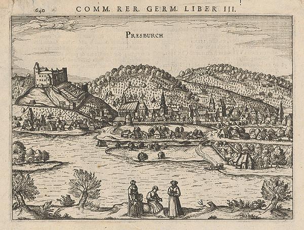 Franz Hoogenberg, Joris Hoefnagel – Bratislava z juhu