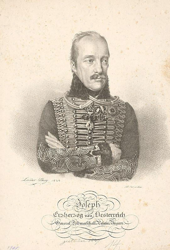 Friedrich Johann Gottlieb Lieder – Uhorský palatín arcivojvoda Jozef