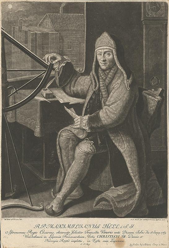 Johann Jacob Haid, Wenzel Pohl – Astronóm Maximilián Hell