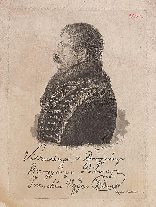 Ferdinand Karl Theodor Lütgendorff - Portrét Gabriela Brogyányiho