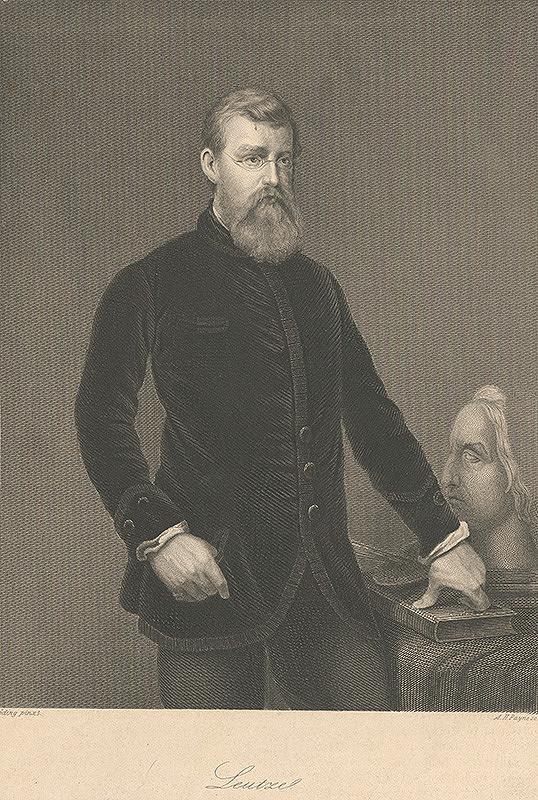 Albert Henry Payne, Góding - Portrét Leutzeho