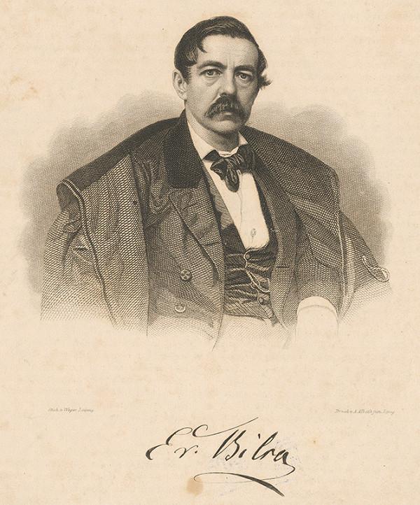 August Weger – Portrét muža