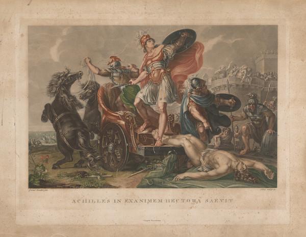 Pietro Vedovato, Gavin Hamilton – Achilleus sa hnevá nad mŕtvym Hectorom