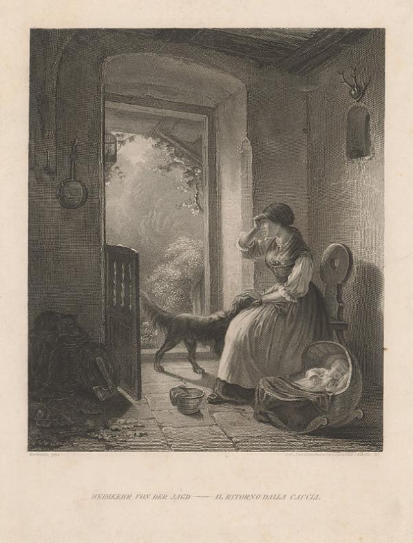 Alexander Alboth, August Heinrich Niedmann - Mladá matka s dieťaťom
