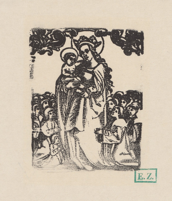 Erhard Schön – Panna Mária Ochrankyňa