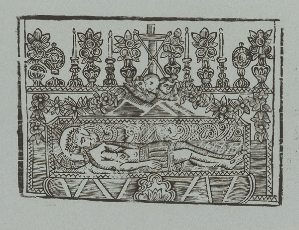 Slovenský grafik z 2. polovice 18. storočia – Kristus v hrobe