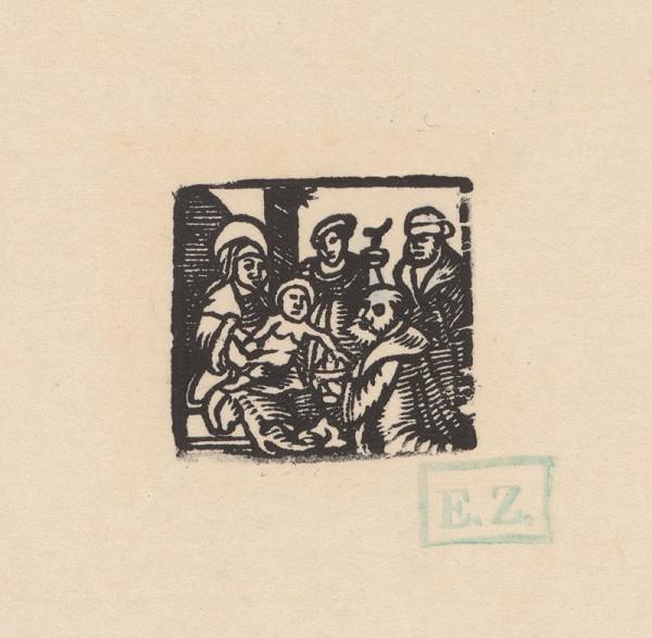 Kopista, Hans Sebald Beham - Kľaňanie Troch kráľov