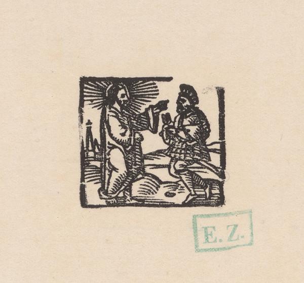 Kopista, Hans Sebald Beham – Kristus a stotník