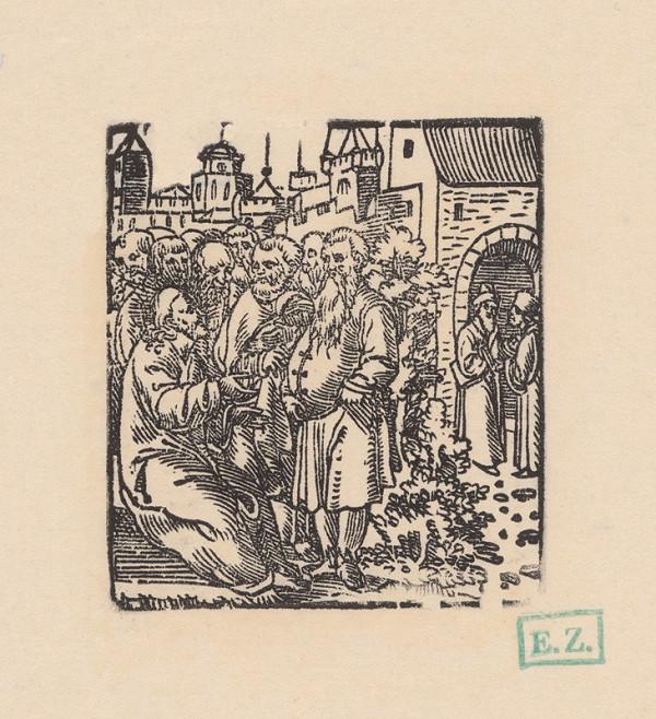Grafik, Hans Springinklee, Erhard Schön – Kázeň o spravodlivosti