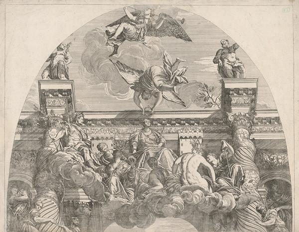 Stredoeuópsky rytec z polovice 18. storočia – Korunovanie Márie Terézie ?