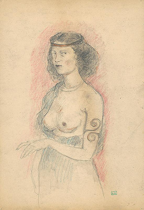 Viktor Belányi - Žena v kostýme
