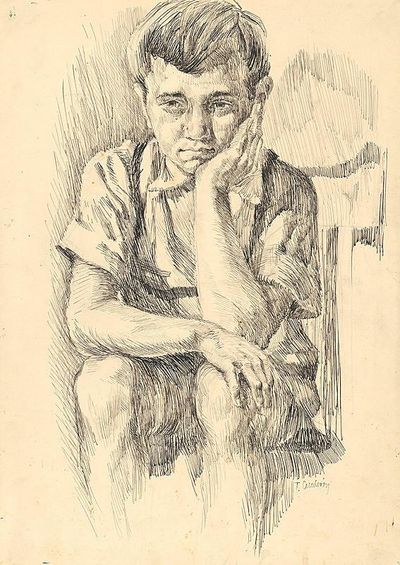 Tibor Andrássy – Štúdia chlapca