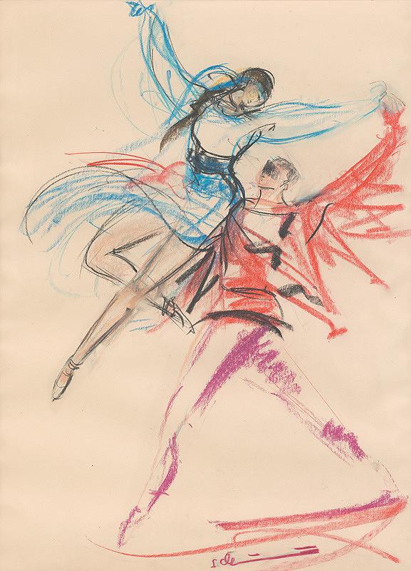 Sibylla Greinerová – Tanečnica