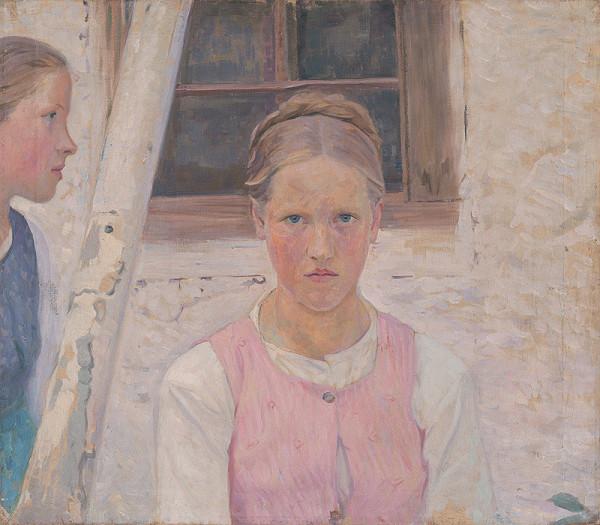 Maďarský maliar – Dve dievčatá