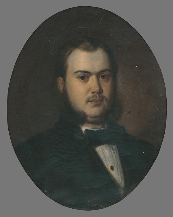 Neznámy maliar - Portrét mladého muža