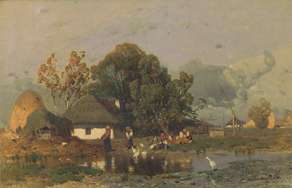 Géza Mészöly - Na konci dediny