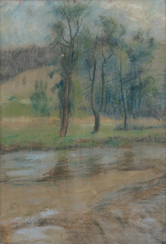 Zolo Palugyay – Stromy pri rieke