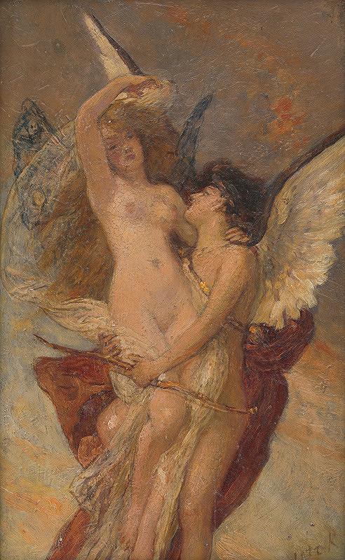 Károly Lotz - Amor a Psyché