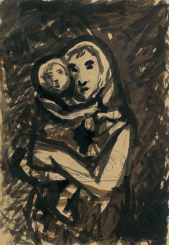 Ján Mudroch – Stojaca matka s dieťaťom
