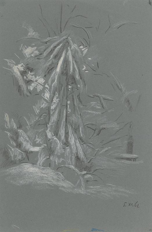 Peter Július Kern – Strom v zime