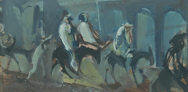 Vincent Hložník – Jazdci