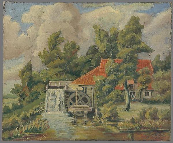 Koloman Sokol – Starý vodný mlyn