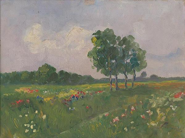 Karol Polónyi - Krajina so stromom
