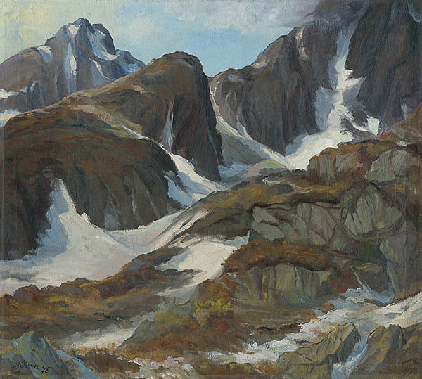 Ondrej Ivan - Pod Ľadovým štítom
