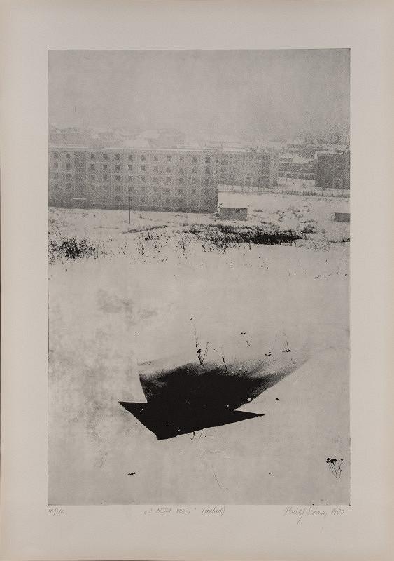 Rudolf Sikora – Z mesta von I. (detail)