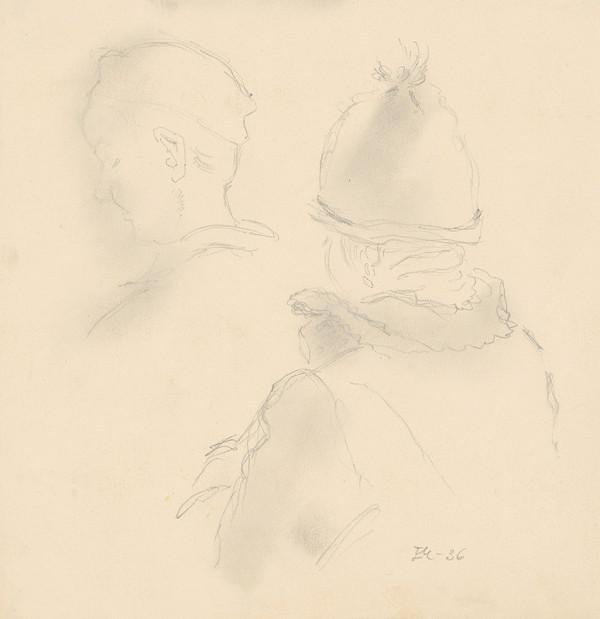 Emil Makovický – Štúdia hláv