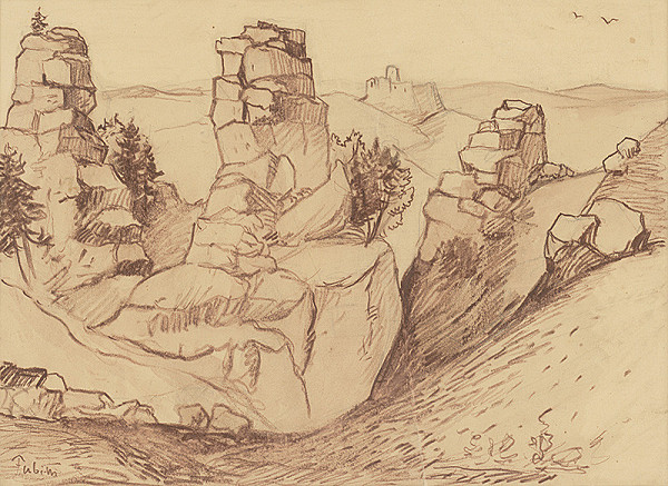 Jozef Fabini – Kamenný hrad na Dreveníku